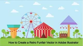 How to Create a Retro Funfair Vector in Adobe Illustrator (Part 1)