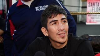 Leo Santa Cruz discusses Miguel Flores Nov 23rd Match plus more