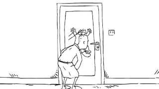 Кот Саймона и дверь