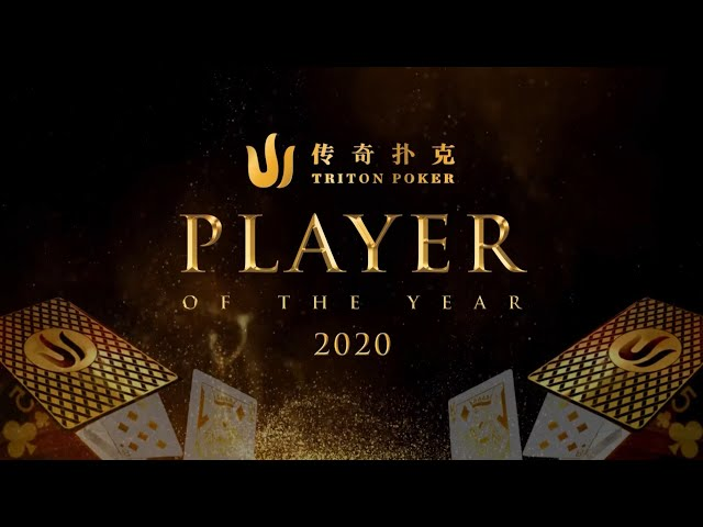 Triton Poker Player of the Year 2020 Announcement