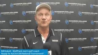 Coach Kokott previews NJCAA DIII Golf Nationals!
