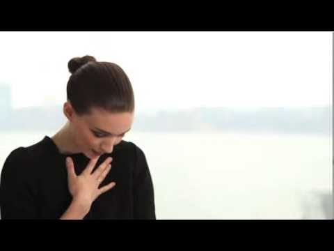 Ck Downtown Perfume Ad Backstage Scenes starring Rooney Mara