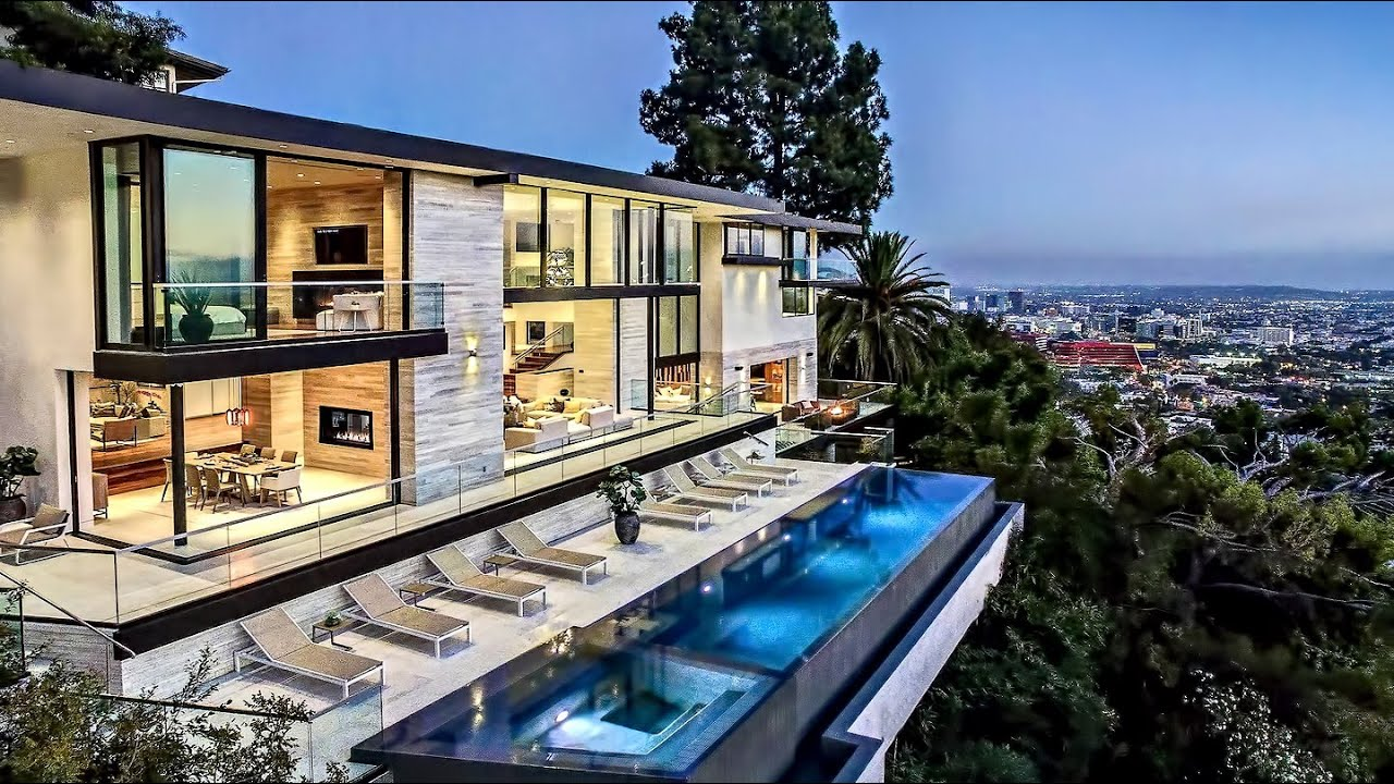 Stunning west hollywood hills modern contemporary luxury for Luxury homes for sale la