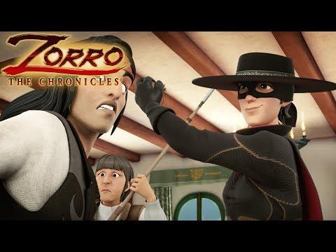Les Chroniques De Zorro   Episode 21   LES LOUPS ENTRE EUX   Dessin De Super-héros