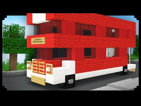 ✔ Minecraft: How to make a Double-Decker Bus