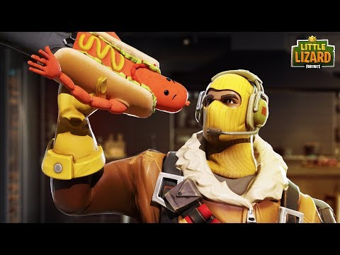 THE BRAT GETS EATEN!  - Fortnite Short Film