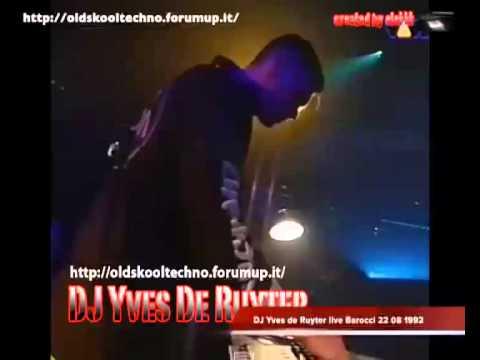 DJ Yves de Ruyter live Barocci 22 08 1992