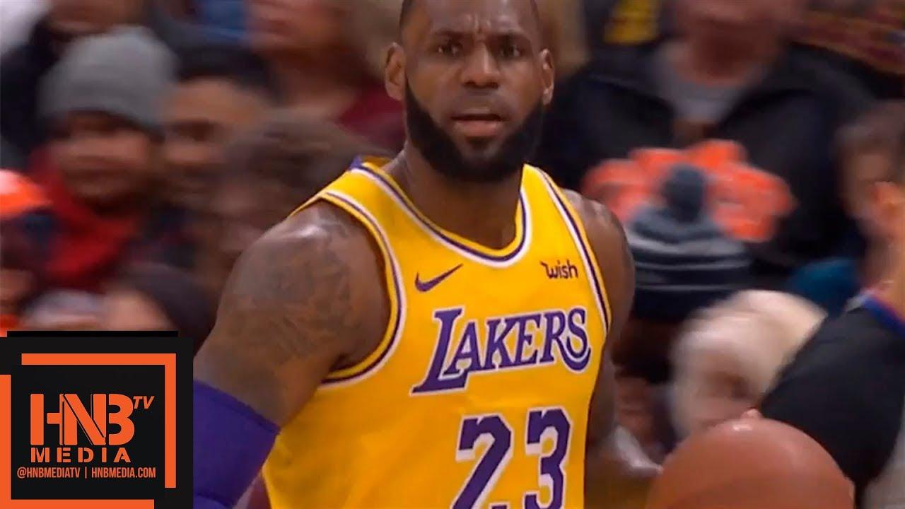 watch 69b0e 7e972 Los Angeles Lakers vs Cleveland Cavaliers 1st Half Highlights | 11.21.2018,  NBA Season