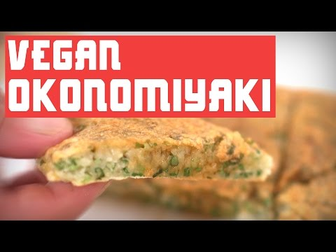 HOW TO MAKE VEGAN OKONOMIYAKI *