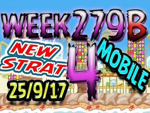 Angry Birds Friends Tournament Level 4 Week 279-B NEW STRAT Highscore POWER-UP walkthrough