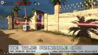 Two Minute Review: The Talos Principle (PC GAME)
