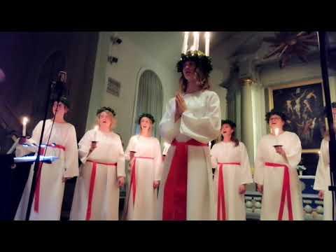 Vasil Ponоmarev: Святкування Святоi Люцii в Швецii 2019_20