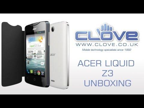 Acer Liquid Z3 Unboxing