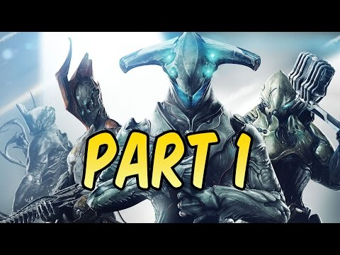 WARFRAME - Gameplay Walkthrough - Part 1 PS4 | Tutorial & Excalibur Intro | xxSnEaKyGxx