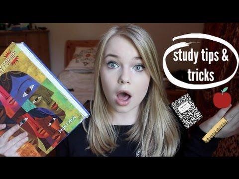 school study tips & tricks (AP, note-taking, exams) || 2015