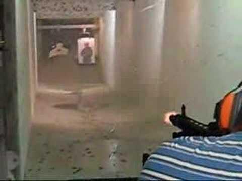Shooting an MG-74