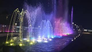 Поющие фонтаны возле пляжа Бархатные сезоны Адлер Султан-Ураган и Мурат Тхагалегов На дискотеку