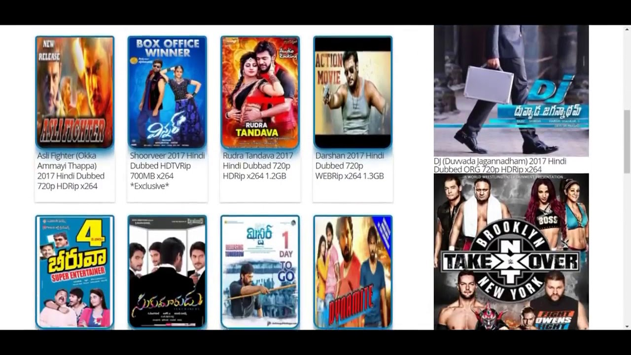5 Best Websites To Download South Hindi Dubbed Movies -2945