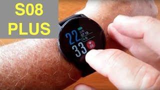 SENBONO S08 PLUS IP68 Waterproof Blood Pressure Sports Smartwatch: Unboxing and 1st Look