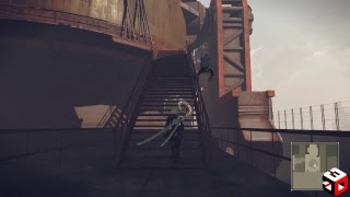NieR:Automata - PC Keyboard and Mouse test