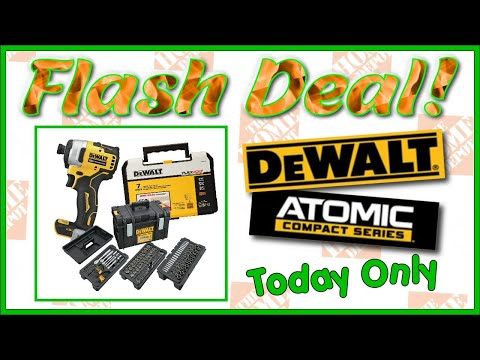 TODAY ONLY! DeWalt Deals At The Home Depot