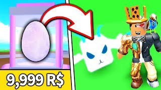 BUYING THE MOST EXPENSIVE PET in PET RANCH SIMULATOR... and it's SUPER OP!! (Roblox)