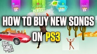 How to Buy New Songs on a Playstation 3 System | Just Dance 2014