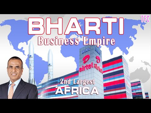 Bharti Business Empire   How Big Is Bharti Airtel?   Sunil Bharti Mittal