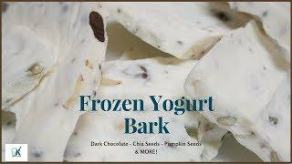 Frozen Yogurt Bark - Easy Low Carb Keto Snack Recipe