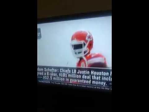 Justin Houston (Breaking News)