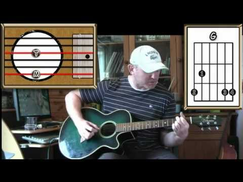 Brain Damage - Pink Floyd - Acoustic Guitar Lesson