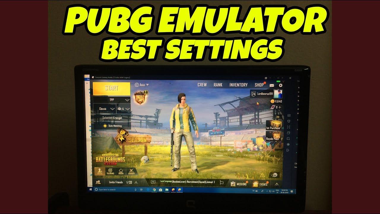 best emulator for pubg mobile