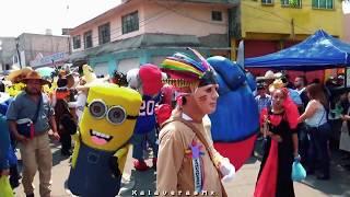 La Banda del Rey - Disfraces Tahuarejos - Santa María Aztahuacan 2019