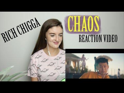 Rich Chigga - Chaos (MUSIC VIDEO REACTION)