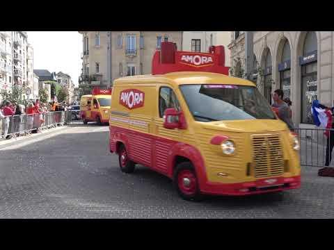 La Caravane Publicitaire Du Tour De France Cycliste 2019