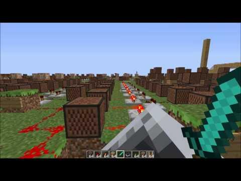Minecraft Note Block Music  Carly Comando Everyday