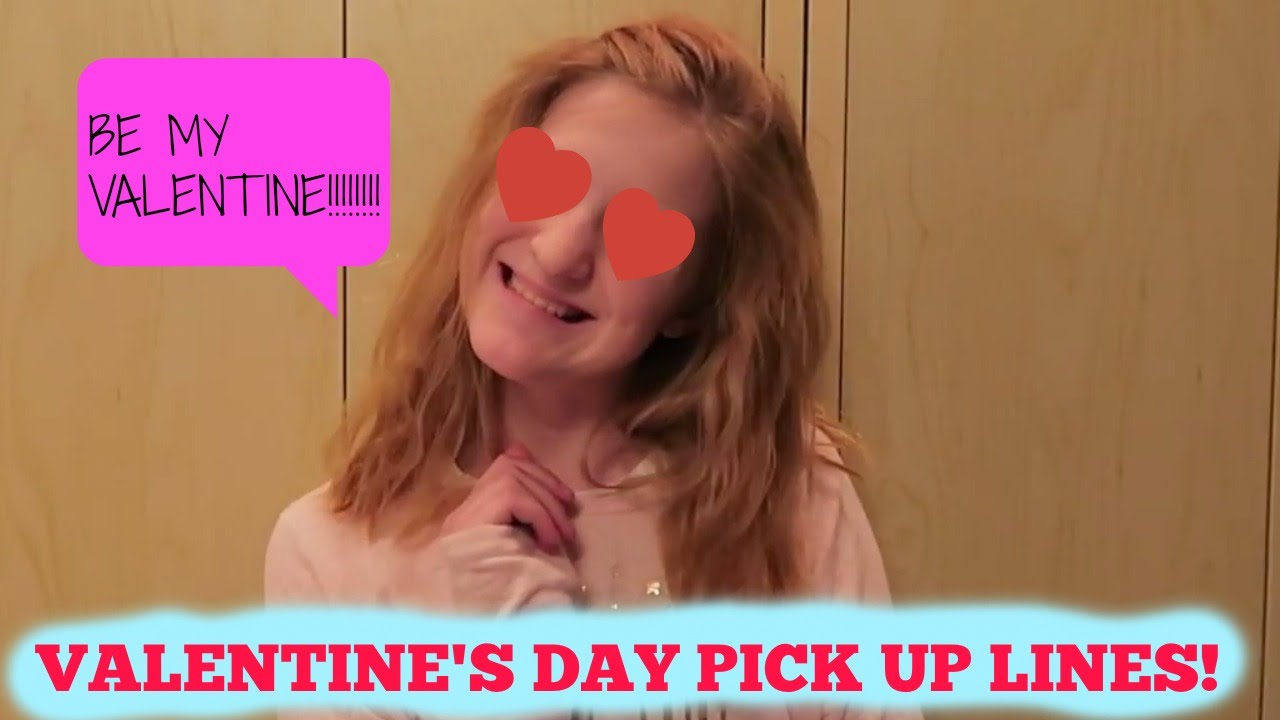 Cheesy Valentine S Day Pick Up Lines Youtube