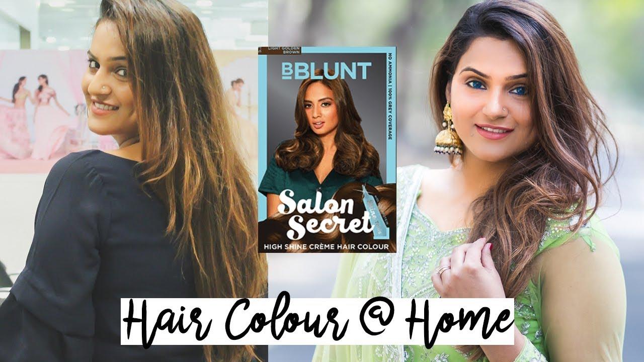f8872a0be22 Hair Colour Transformation BBLUNT Salon Secret High Shine Creme Hair Colour