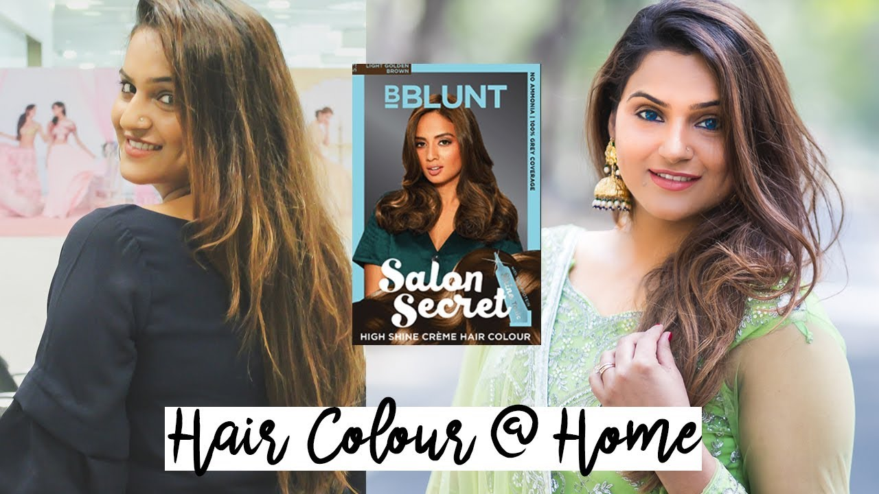 Hair Colour Transformation Bblunt Salon Secret High Shine Creme Price Review