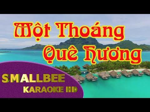 Một Thoáng Quê Hương karaoke