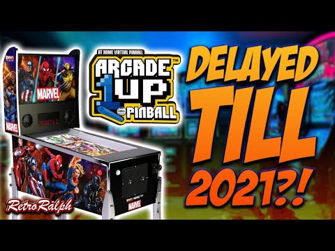 Cancel Christmas - Arcade1up Pinball Delayed till Feb 2021?!?!? from Retro Ralph