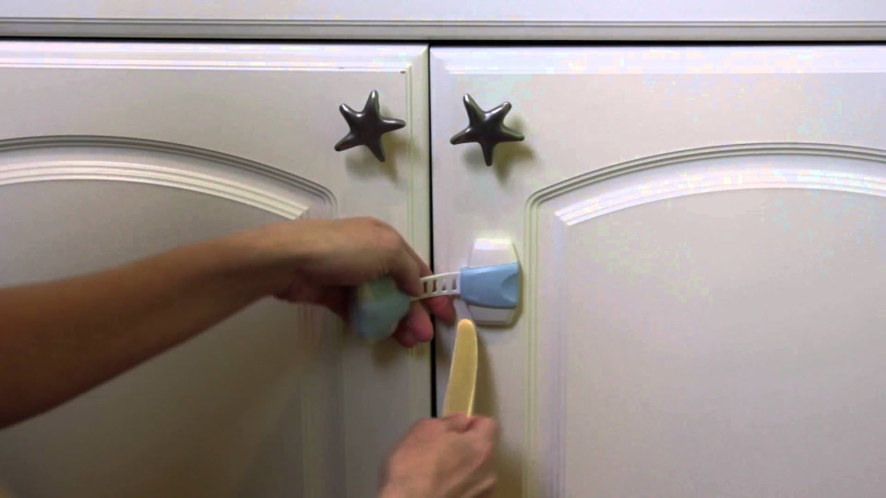 Child Safety Locks Clean And Easy Removal | The Baby Lodge