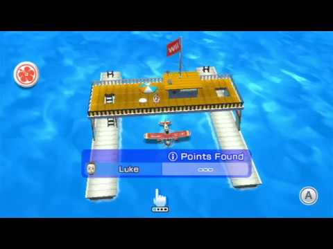 Wii Sports Resort – Air Sports Island Flyover (All 80 i Points)