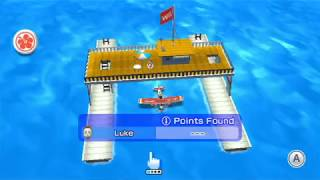 Wii Sports Resort - Air Sports Island Flyover (All 80 i Points)