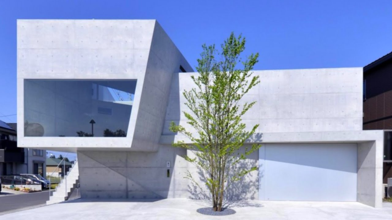 50 Amazing Modern Concrete Homes - YouTube