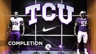 TCU Football Locker Room