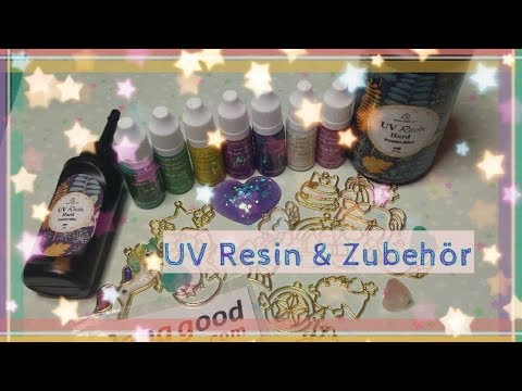 Unboxing ! UV Resin, Shiny Pearl Pigment, Bezel ( Lünetten/ Charms )