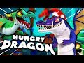 THE HUNGRY DRAGONS ARE HERE! | Hungry Dragons Mobile Game Gameplay