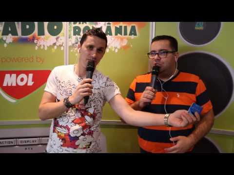 Cel mai mare radio din Romania in Sibiu - Popescu si Flick la benzinaria MOL