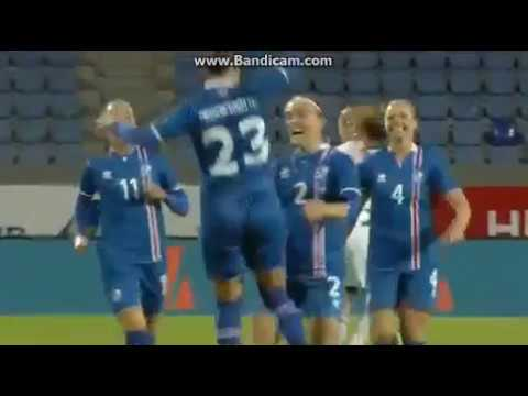 Iceland - Faroe Islands 8:0 I Qualification to Womens World Cup